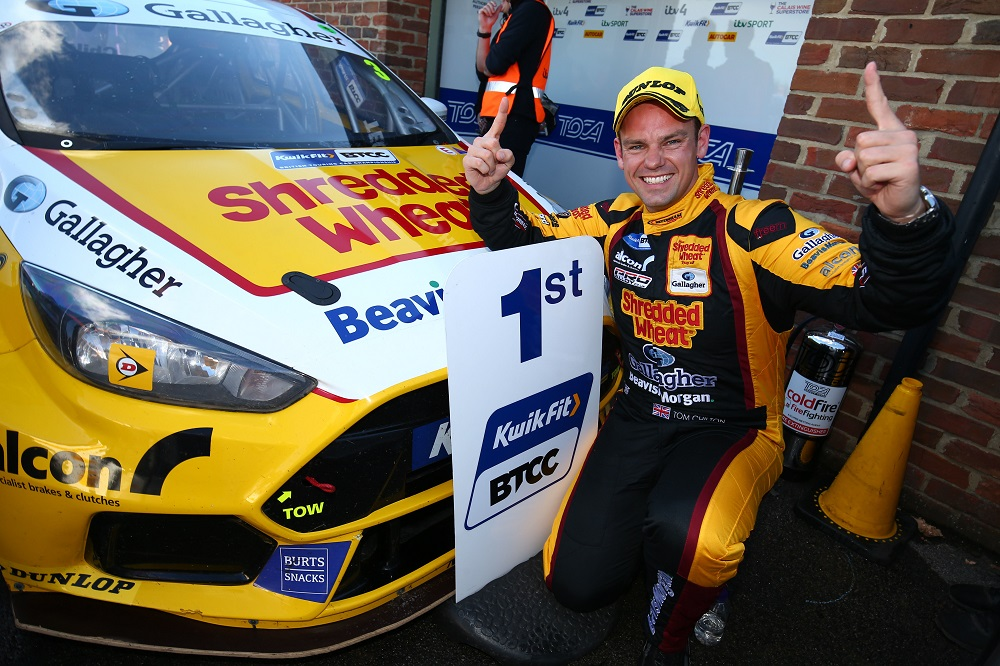 Tom Chilton wins final race