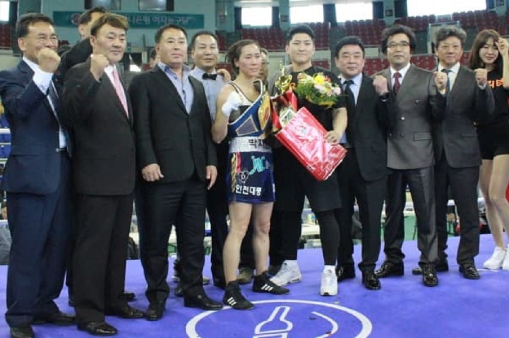 Ji Hyun Park retains Strawweight titlw