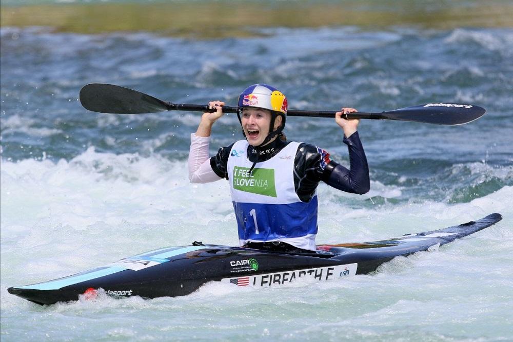 Leibfarth wins world canoe slalom title