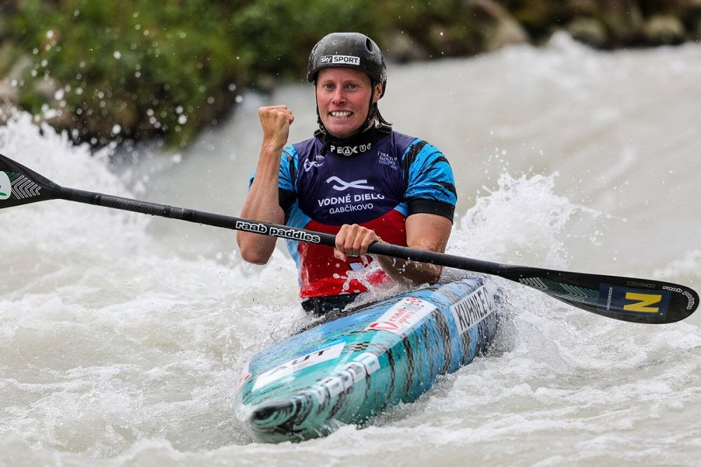 ICF canoe slalom world cup in Bratislava, Slovakia