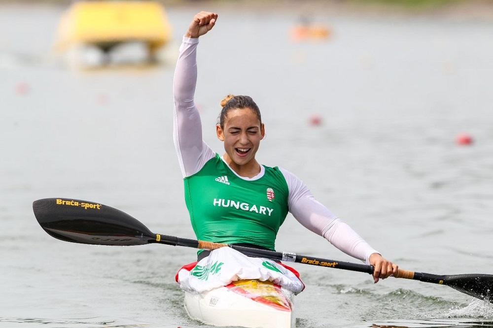 Hungarian canoeist returns positive drugs test