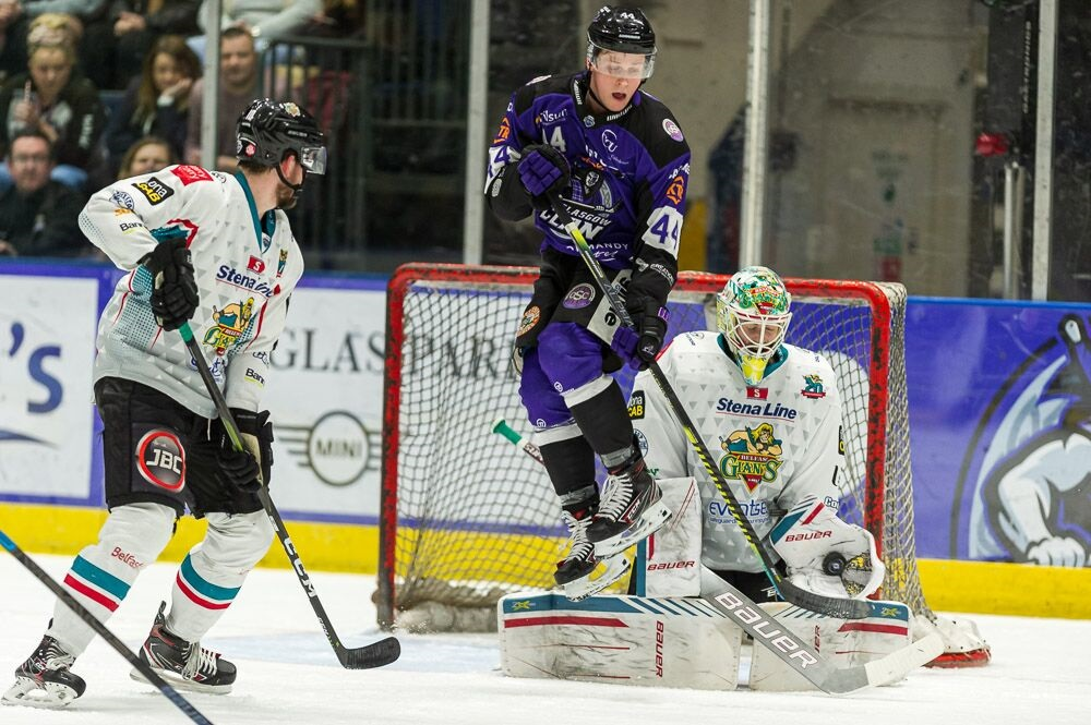 Glasgow Clan 2-5 Stena Line Belfast Giants