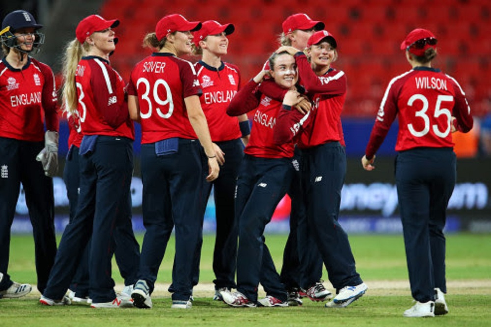 England defeat West Indies on way to Semi-finals