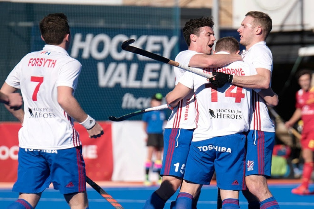 Adam Dixon scores twice, Zach Wallace also bags first GB goal