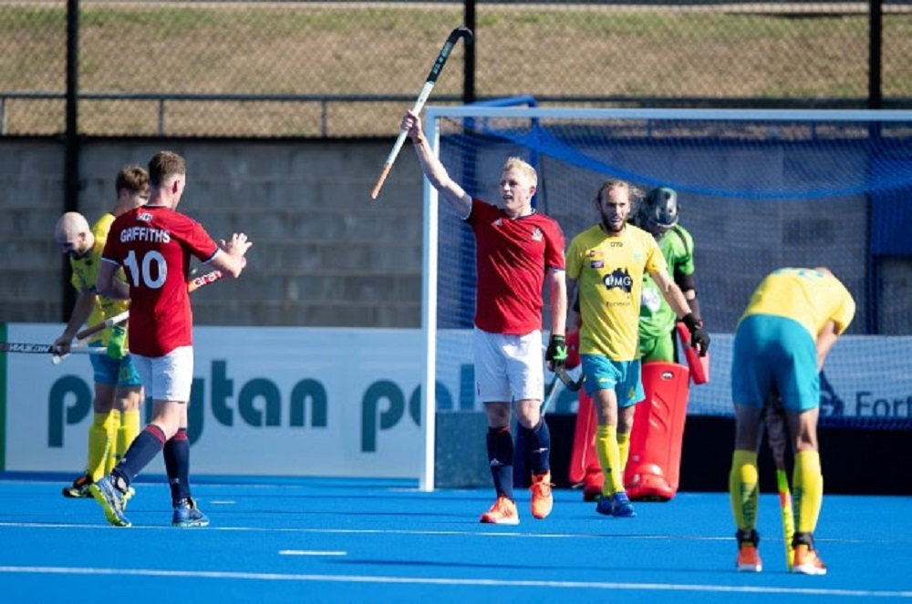 GB in 4-4 draw against world number one