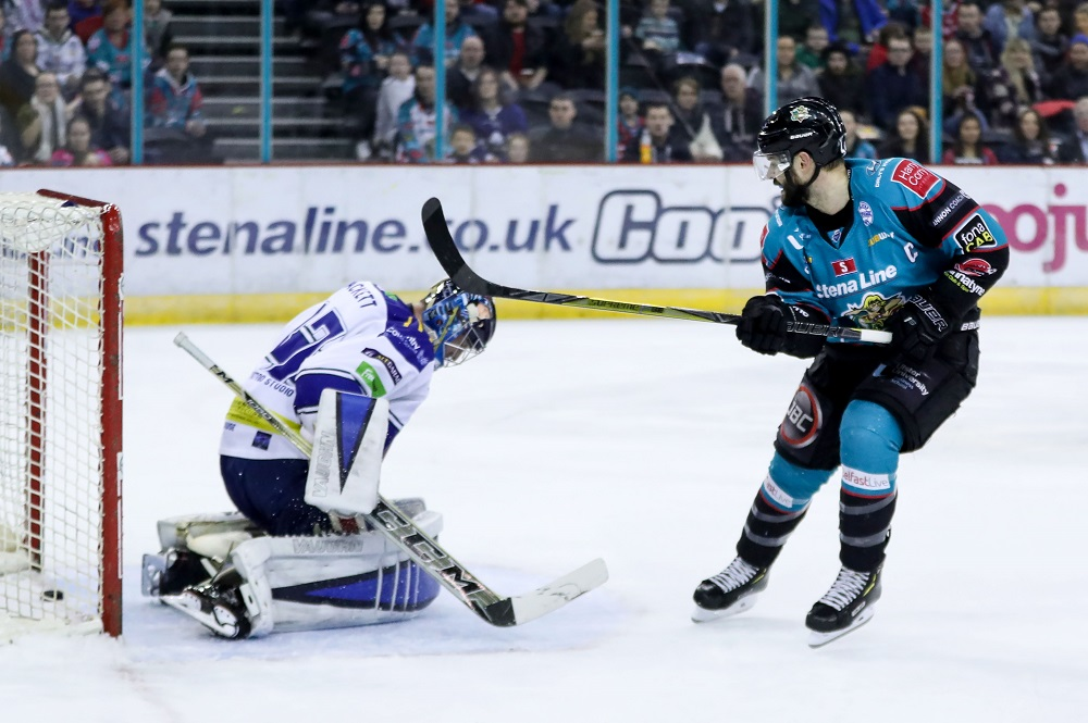 Belfast Giants 4 - 1 Coventry Blaze