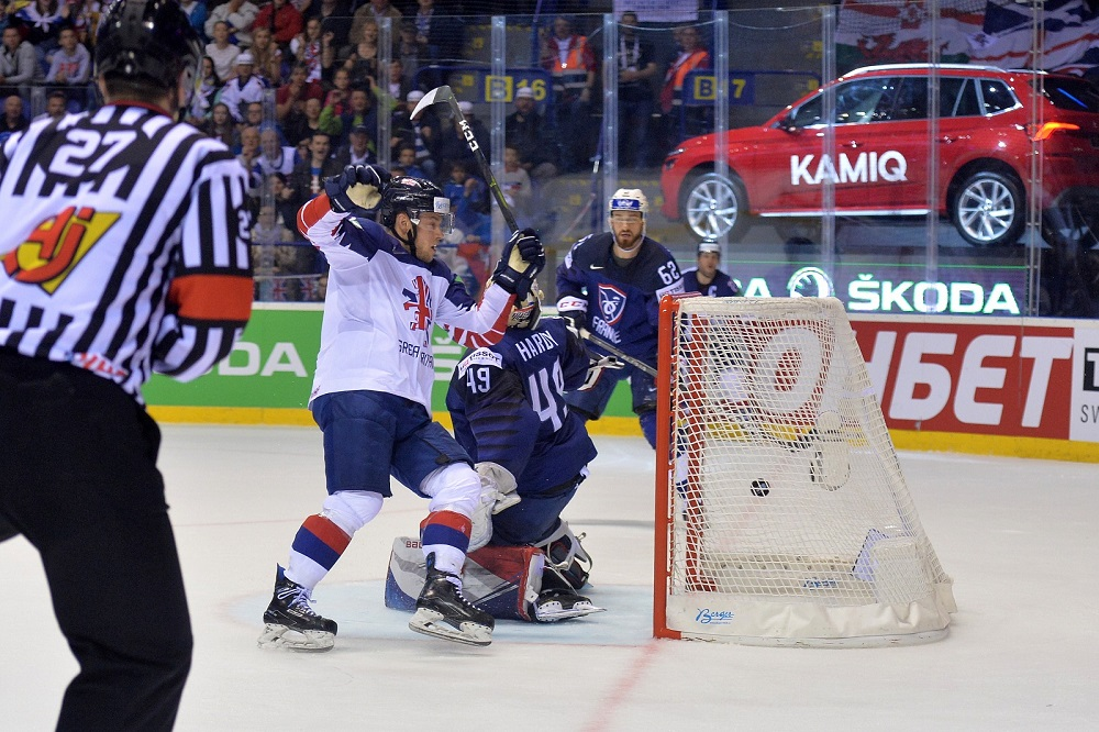 France 3-4 Great Britain (overtime)