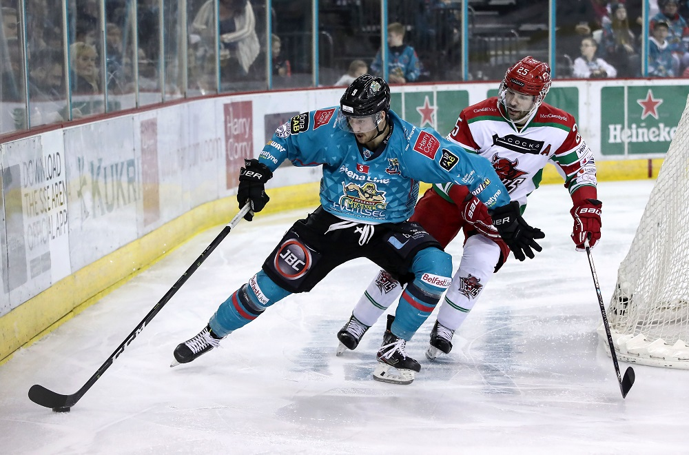 Three more signings for Belfast Giants
