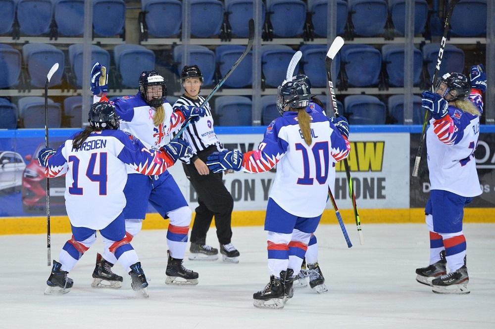 GB Women defeat Iceland Women 5 - 0