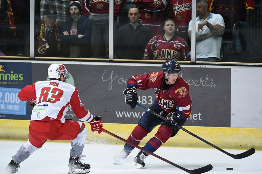 Flames lose out to Cardiff Devils
