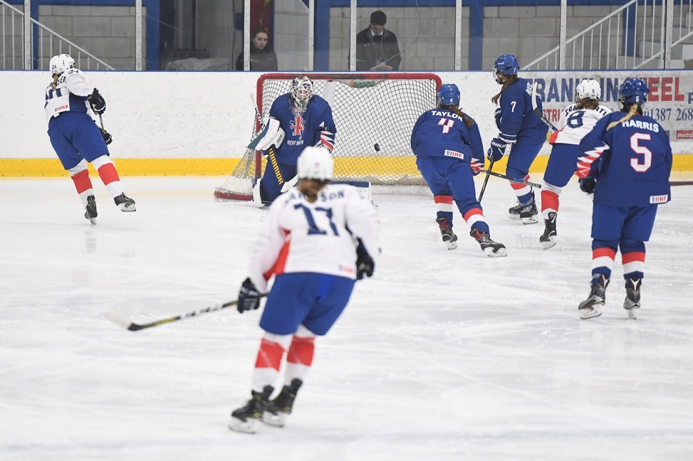 GB U18 Women lose second game