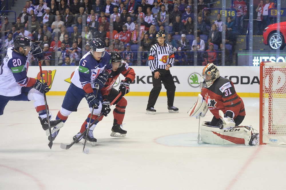 Great britain beaten by top seeds Canada