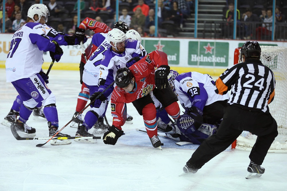 Belfast Giants 6 Glasgow Clan 1
