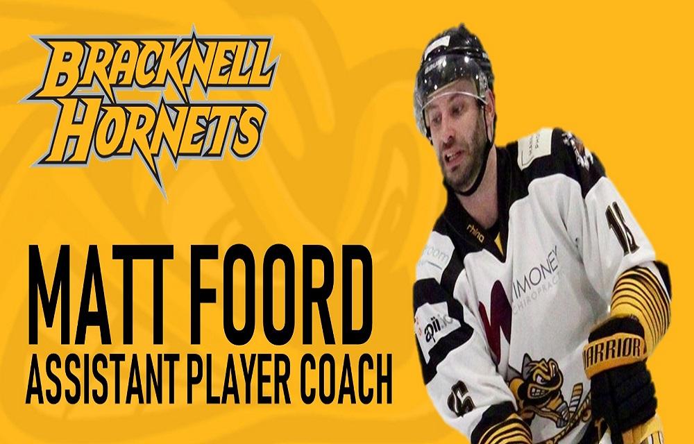 Bracknell Hornets re-sign Matt Foord