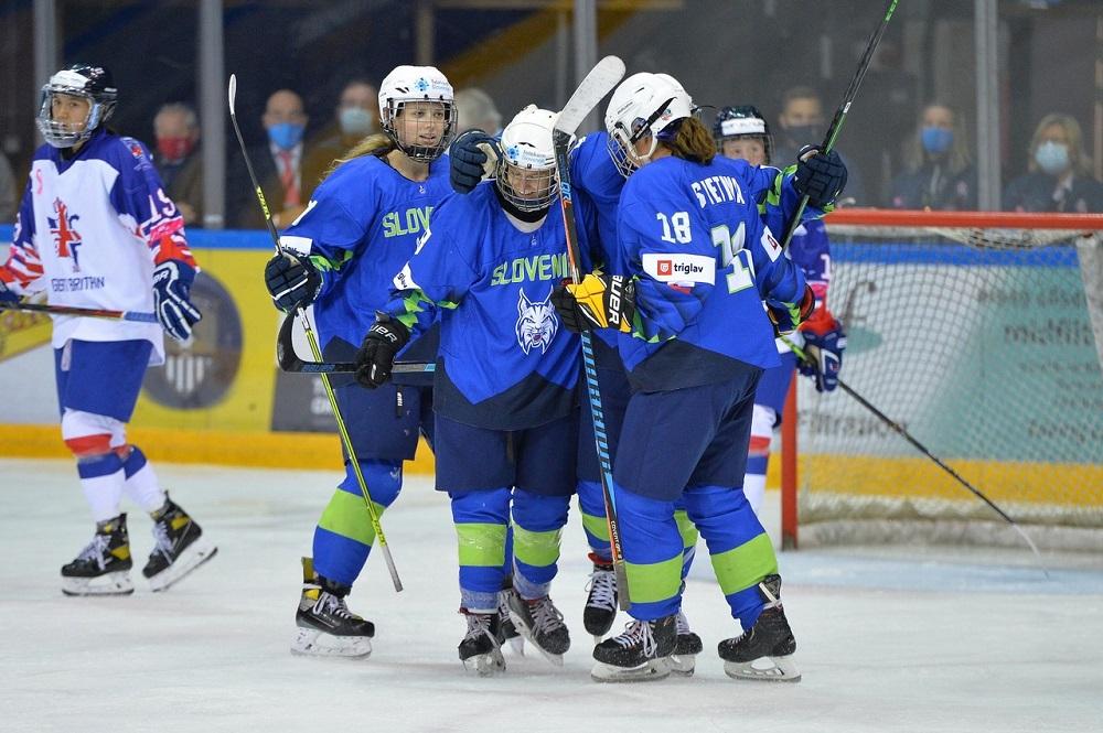 Slovenia Women defeat GB Women in Olympic Qualifiers