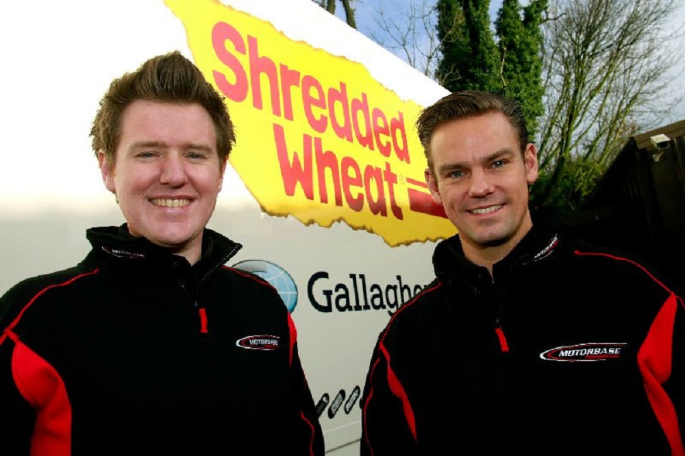 Chilton and jackson to drive for Team Shredded Wheat in 2019 campaign