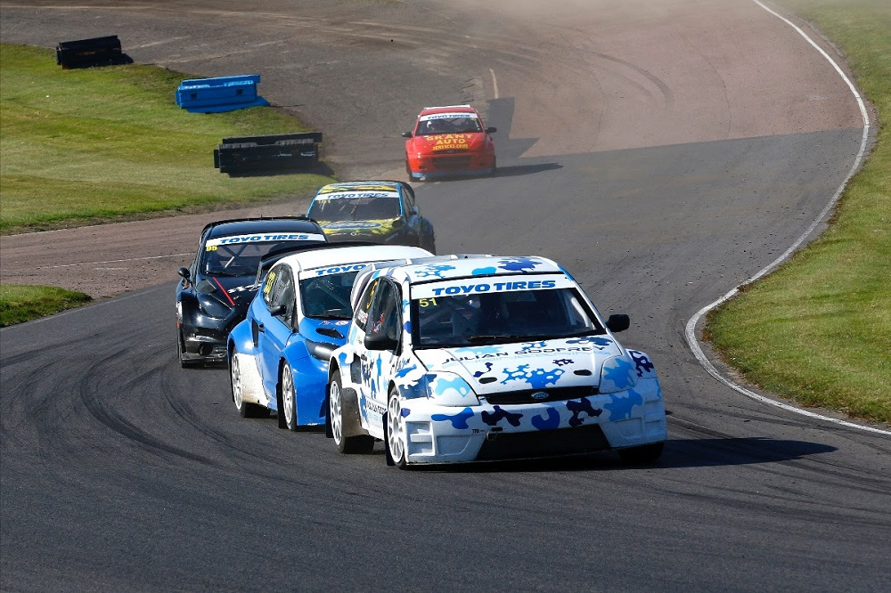 Re-takes British RX points lead