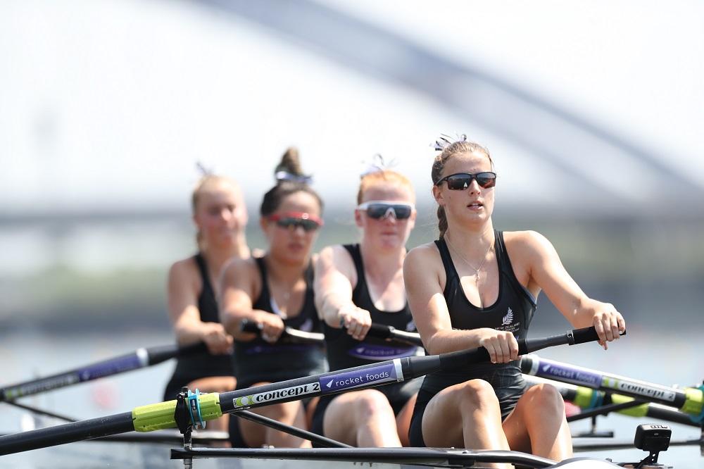 New Zealand's Women Four make the A final