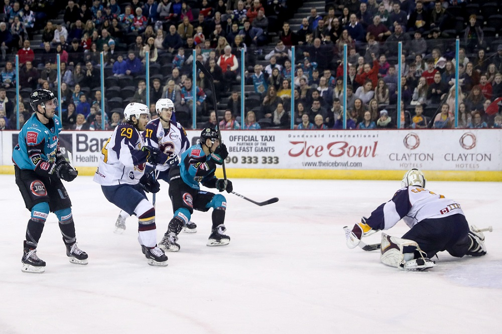 Stena Line Belfast Giants 3-2 Guildford Flames (Overtime)