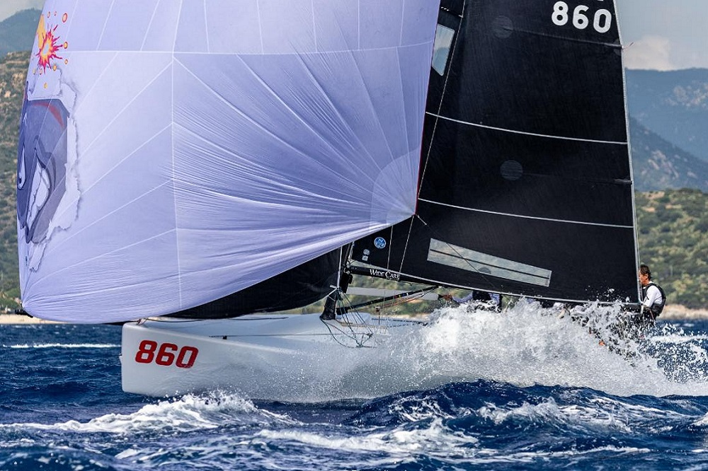 Melges 24 Pre-worlds 2019 in Villasimius, Italy