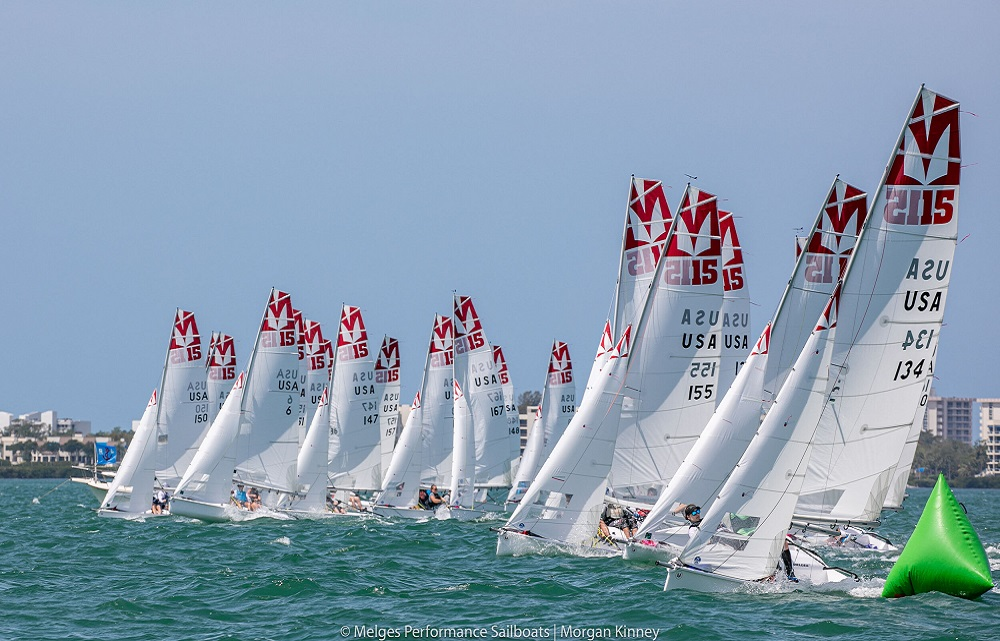 Melges Sailboats 15s Midwinters