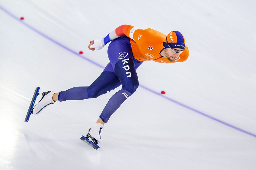 Clean sweep for Netherland's Krol