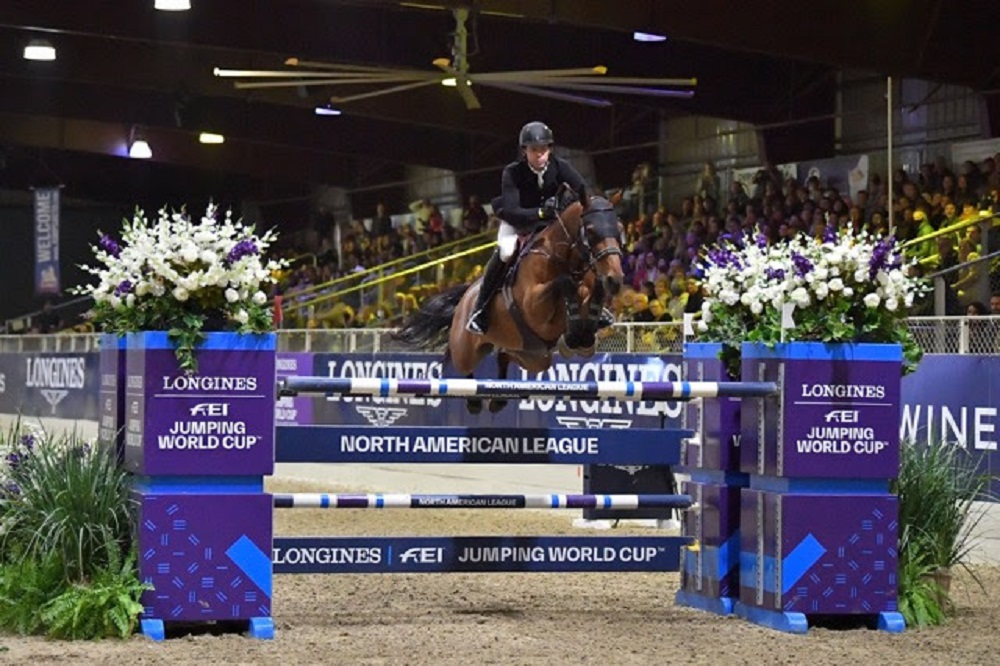 Swail secures second straight Longines victory