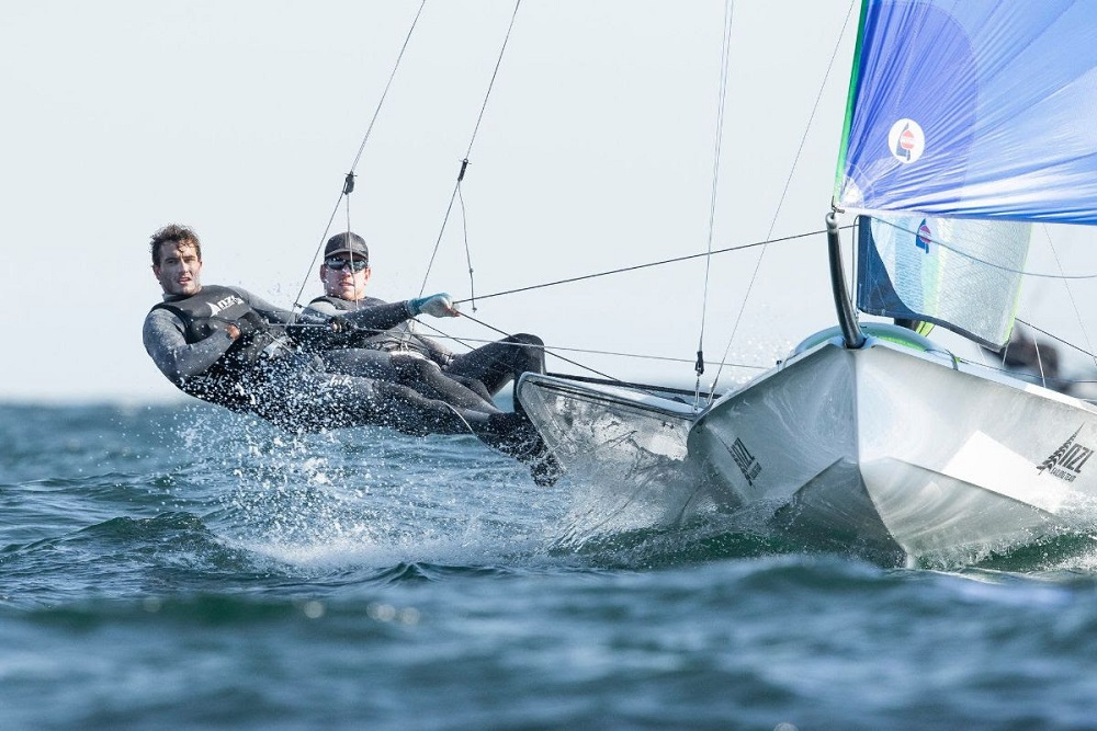 Strong start for New Zealand crews at Weymouth